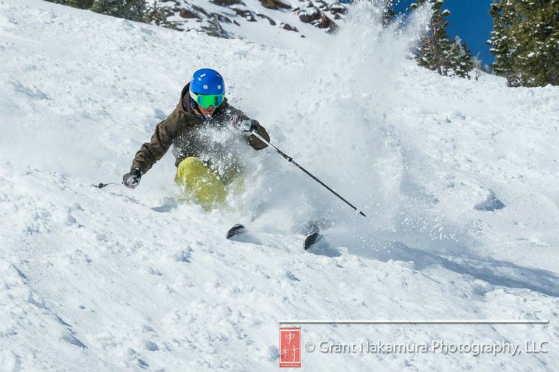 Kevin skiing GN photography